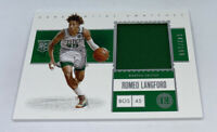 2019-20 Encased Romeo Langford Game Used Patch #142/199 Substantial Swatches RC