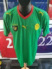 Maillot jersey maglia trikot shirt camiseta africa cameroon Cameroun etoo XL