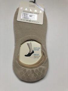 FALKE WOMENS Step Invisible Socks Liner Cream Small U.K. 4-5 Sneaker Fit