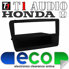 T1 Audio Honda Civic 2000-2005 Black Stereo Fascia Facia Replacement Panel
