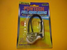 2 UNIVERSAL Ceiling Fan Light BRASS Pull Chain Switch High Quality UL listed Q32