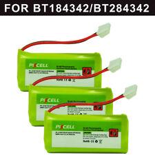 3x AAA Phone Battery 800mAh 2.4V for VTech BT284342/184342 BT8300 Uniden BT-1011