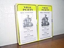 Video Yesteryear Volumes 1 & 2 & 3 & 4-Amos 'n' Andy (VHS, 1996, NEW,2 Tapes)