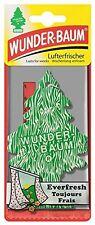 Original Wunderbaum Duftbaum Everfresh Lufterfrischer Autoduft Duft
