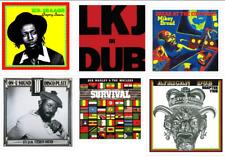 1970's Reggae stickers 80's vinyl roots artists singers mc dancehall dub roots