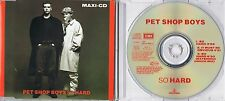 Pet Shop Boys - So hard - Maxi CD - Extended Dance Mix - It Must Be Obvious
