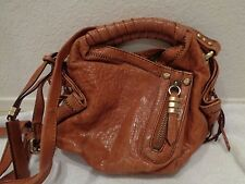 "Oryany ""Heather""  Camel tan brown Leather Crossbody Bag-great condition!"