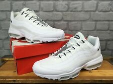 NIKE MENS AIR MAX 95 ULTRA SE WHITE GREY REFLECTIVE TRAINERS RRP £130 T