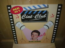 "MICHEL GUIDONI cine club 12""  MAXI 45T"