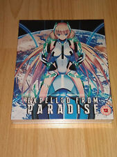 Expelled From Paradise Blu-ray & DVD Collector's Edition Brand New and Sealed
