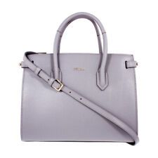 Furla Pin Ladies Small Gray Onice Leather Tote 984315
