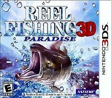 Reel Fishing: Paradise 3D// Young Justice Legacy/ Codename STEAM (N 3DS) new