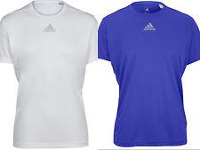 Adidas Men's Sequencials Money Short Sleeve Tee White/Blue M-XL NWT