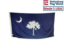 State of South Carolina Flag, All Weather Nylon, Made in USA, Multiple Sizes