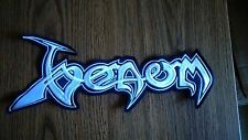VENOM,SEW ON WHITE EMBROIDERED LARGE BACK PATCH