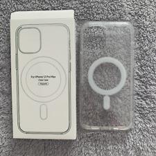 Coque Protection Transparente Magsafe Anti-Choc Magnétique iPhone 12/Mini/ProMax