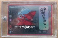 INUYASHA, BODYGUARD 1 OF 1 RC11 Autograph Signed Rumiko Takahashi Inuyasha Tcg