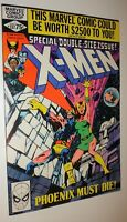 X-MEN #137 JOHN BYRNE CLASSIC 52 PAGE DEATH OF PHOENIX 1980  NM 9.4 W/OW PAGES