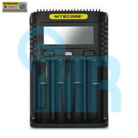 Nitecore UM4 4 Channel Digital Battery Charger