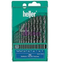 Heller 13 Piece HSS-R Metal Drill Bit Set 2mm - 8mm Rolled Jobber German Tools