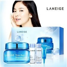 Laneige Water Bank Moisture Cream EX+ Eye gel+ emulsion + refiner Authentic SET
