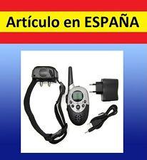 Collar ADIESTRAMIENTO ELECTRICO mando distancia perros anti ladridos descarga