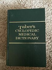 Taber's Cyclopedic Medical Dictionary Edition 14 Thumb Indexed (1981, Hardcover)