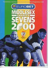 Programme Rugby Union Middlesex 7's @ Twickenham 12.8.2000