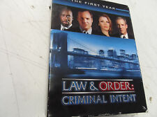 Law & Order: Criminal Intent - The First Year - 8 DVDs Tested!