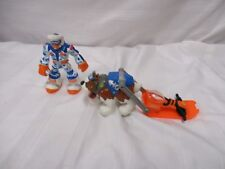 Fisher price rescue heroes Force of nature all pine wind chill mountain climber