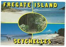 "SEYCHELLES - FREGATE ISLAND  6"" x 4"" Photo Eden Postcard ANSE ROYALE Postmark"