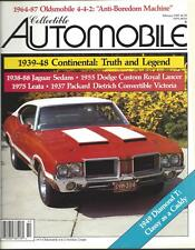 Collectible Automobile Magazine Month Year Vol 5 - No 5