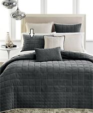 Hotel Collection Velvet Quilted Standard Pillow Sham Grey $120