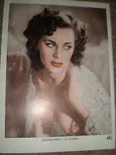 Printed art photo glamorous nude by PMU 1949 ref K