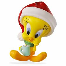 Hallmark 2016 Hot Cocoa Christmas Tweety Looney Tunes Ornament
