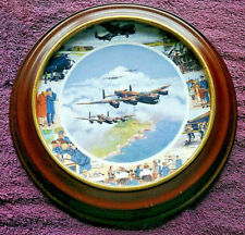 Ltd Edition Collector Plate - Royal Doulton - Wwii Aircraft - Free Postage*(8)