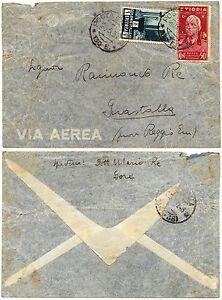 1282 - Colonie, Eritrea, Etiopia - Affrancatura mista su busta, 1937