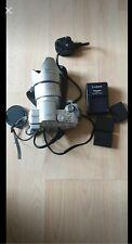 Panasonic Lumix DMC-FZ5 Digital Camera, Silver, with accessories