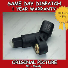 VW POLO 1.0,1.3,1.4,1.6,1.7,1.8,1.9 ABS SENSOR FRONT LEFT 1994>01 NEW 1H0927807