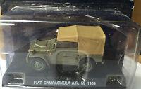 "DIE CAST "" FIAT CAMPAGNOLA A.R. 59 - 1959 "" POLIZIA SCALA 1/43"