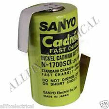 Nickel Cadmium Sub-C 1700mAh Fast Charge Tagged Battery - Part # CAD356