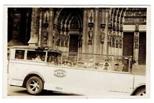 "AK Köln ""Dahmen's Auto-Rundfahrt"" (Paul Dahmen), Kölner Dom, ca. 1920er Echtfoto"