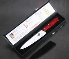7″ Ceramic Chef Knife Newest white Blade Razor Sharp Kitchen Cutler - with box