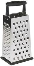 "Shanasana 4 Sided 10"" Box Cheese Grater (Premium Strength Stainless Steel)"