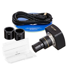 Brand New Still Photo and Video Microscope Camera with Calibration Kit