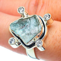 Aquamarine, Blue Topaz 925 Sterling Silver Ring Size 8 Ana Co Jewelry R38716F