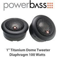 "Powerbass 2XL-1T - 1"" Titanium Dome Tweeter Diaphragm 100 Watts"