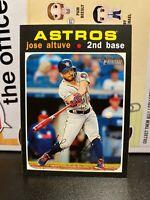 Jose Altuve Card Lot (10) Houston Astros Topps Heritage Series 1 Chrome