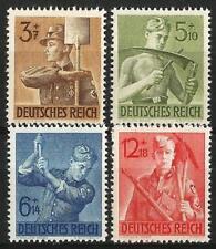 Germany (Third Reich) 1943 MNH - 8 Years Labour Corps Arbeitsdienst - Mi 850-853
