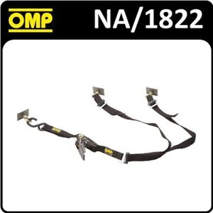NA/1822 OMP RACING RALLY SPARE WHEEL TIE DOWN STRAP for RACE/RALLY CARS